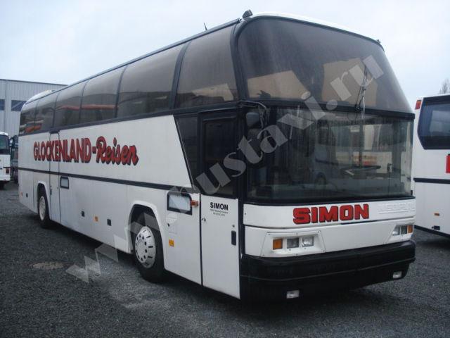 автобус неоплан схема 45 мест