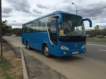Заказ автобуса Golden Dragon 6796 - 32 места