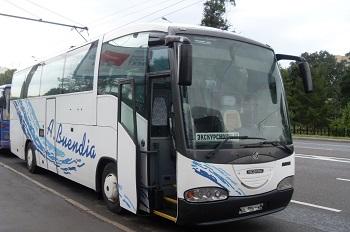Заказ автобусов SCANIA IRIZAR - 50 мест