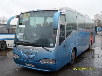 Прокат автобуса SCANIA IRIZAR - 54+1 места