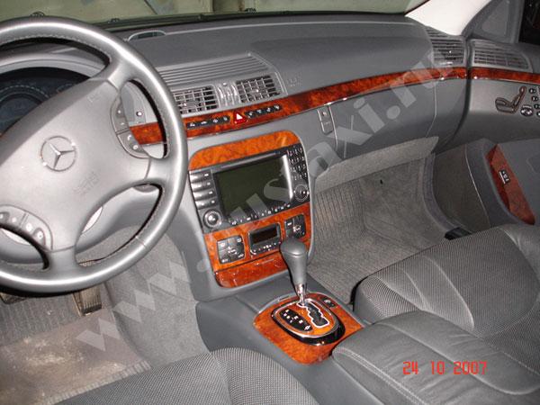 Аренда автомобиля с водителем: Мерседес W220, Mercedes S220