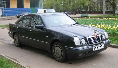 Аренда автомобиля с водителем: Мерседес W 210
