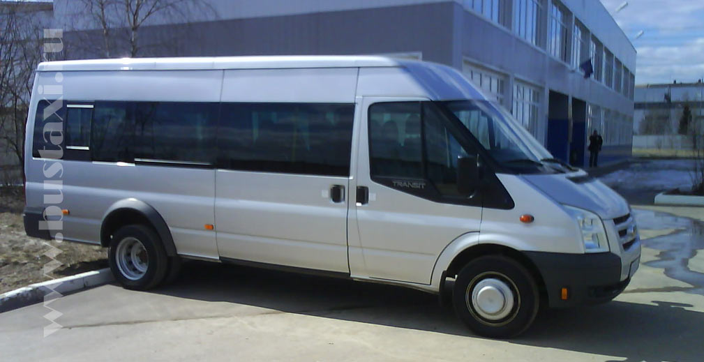 Аренда микроавтобуса Форд Транзит
