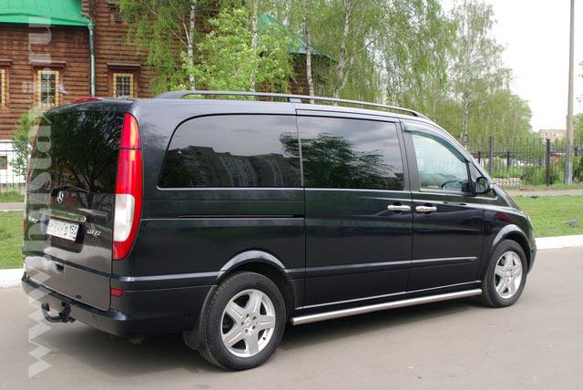 Аренда микроавтобуса Mercedes Viano