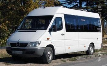Заказ микроавтобуса Мерседес Спринтер