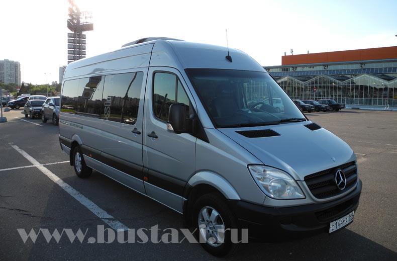 Аренда микроавтобусов Mercedes-Benz Sprinter - 17 мест