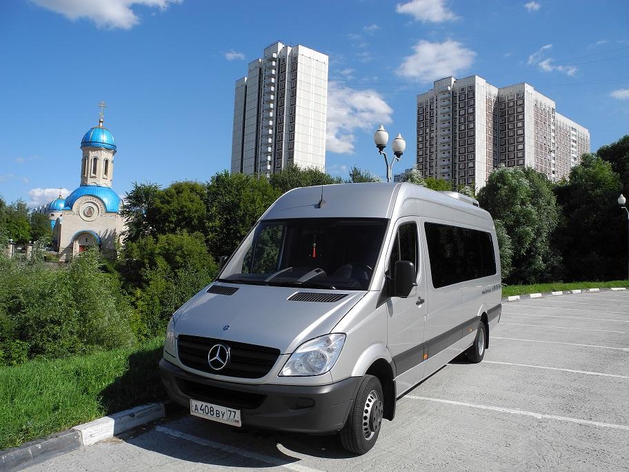 Заказ микроавтобусов Mercedes-Benz Sprinter  Турист - 19 мест